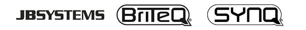 Logos JB Systems Bryteq Synq