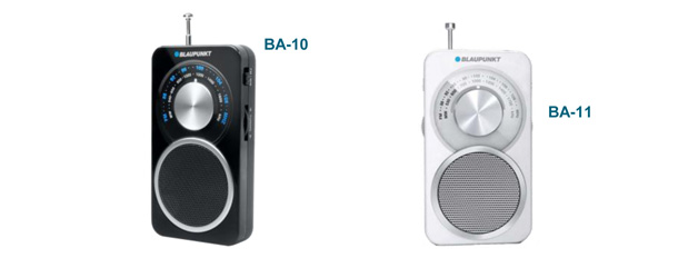 Radios analogiques de poche