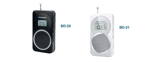 Radios digitales PLL BD 20 et 21