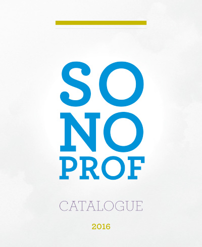 Catalogue Sonoprof